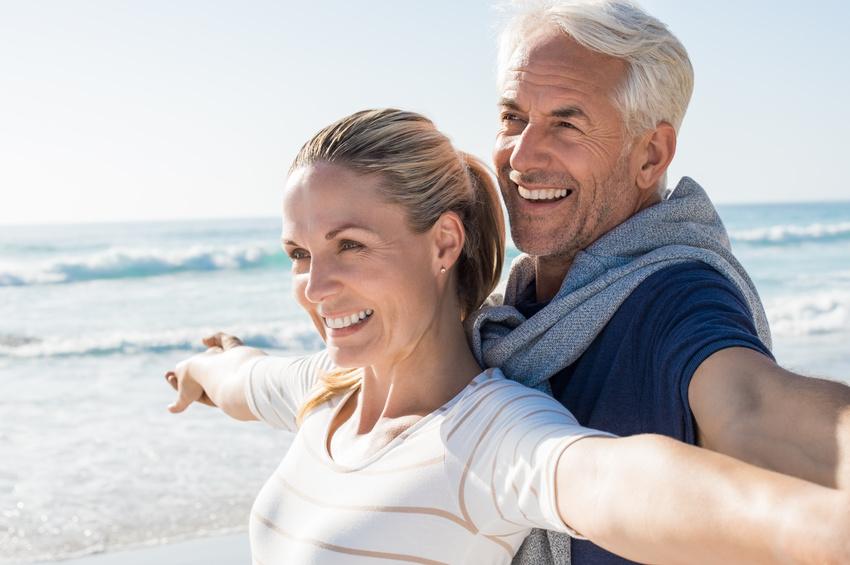 Para poznana przez portal dla seniorow na wakacjach